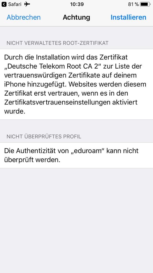 iOS (iPhone / iPad / iPod)